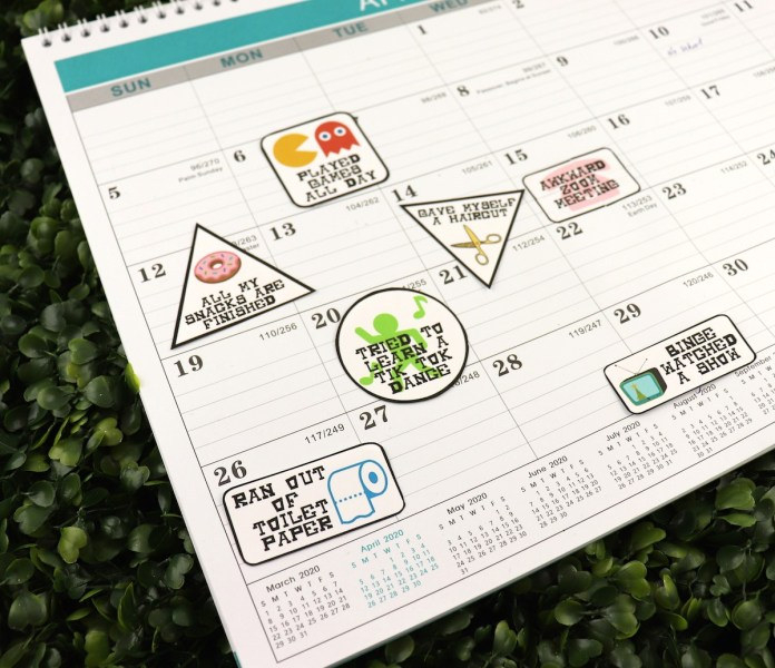 planner stickers for quarantine