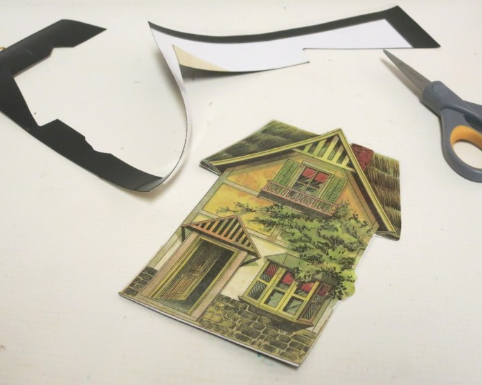 trim magnet paper