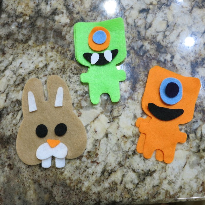 Assemble kids plushies diy pieces