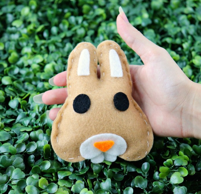 Kids plushies tutorial bunny