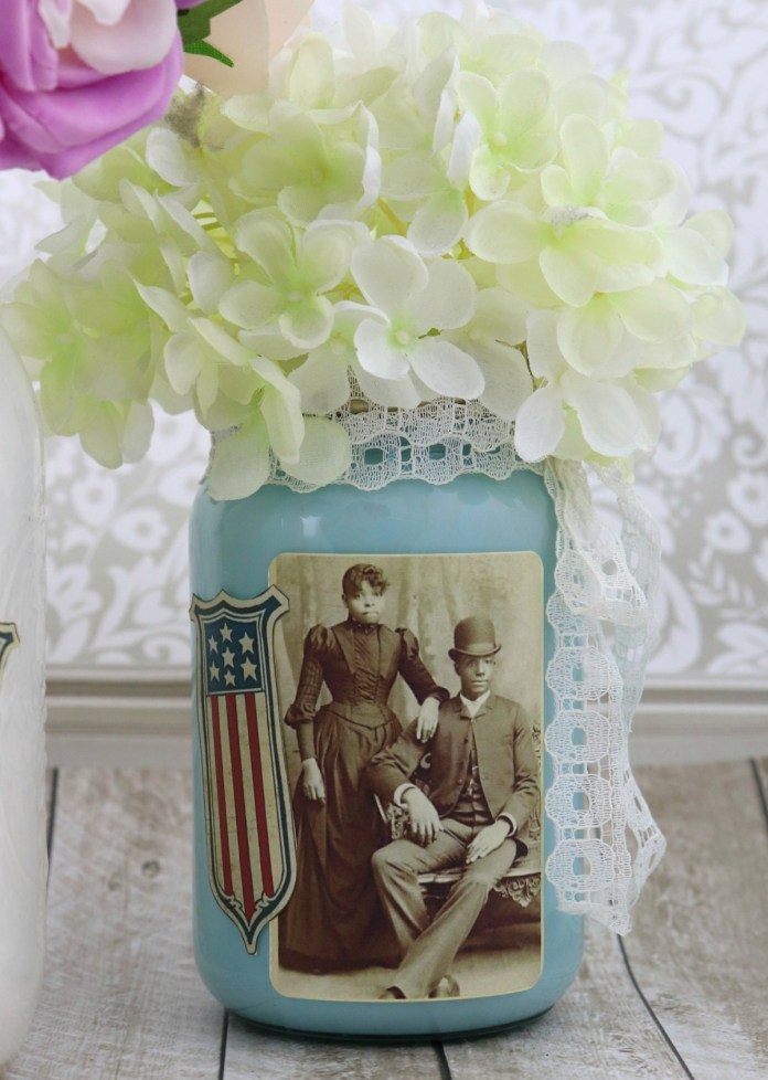 decor Juneteenth Independence Day Centerpieces