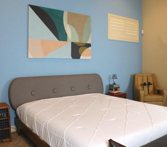 MCM master bedroom makeover