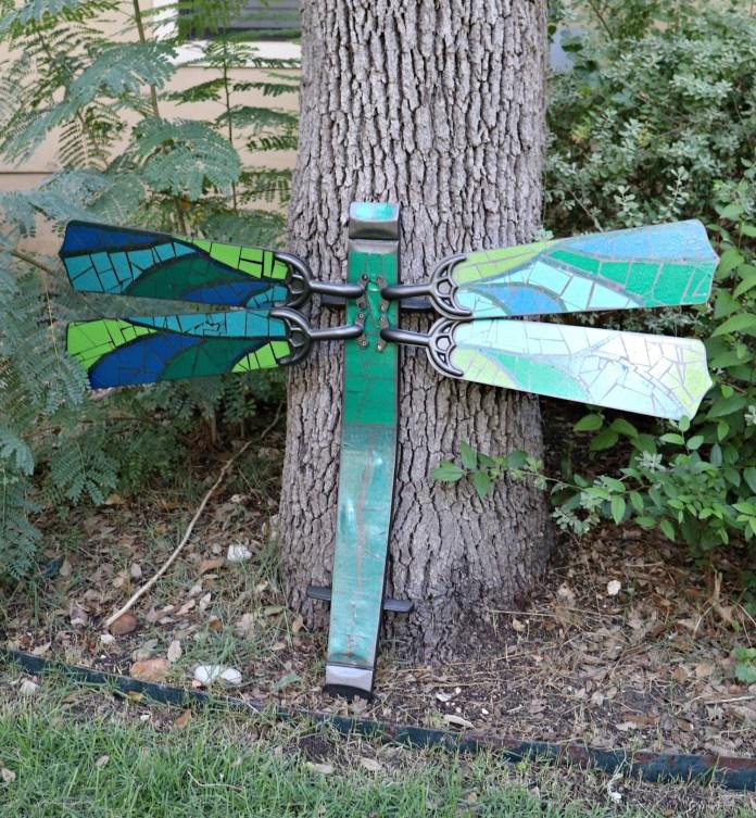 ceiling fan blades dragonfly tutorial