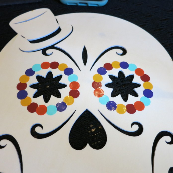 decorate a calavera