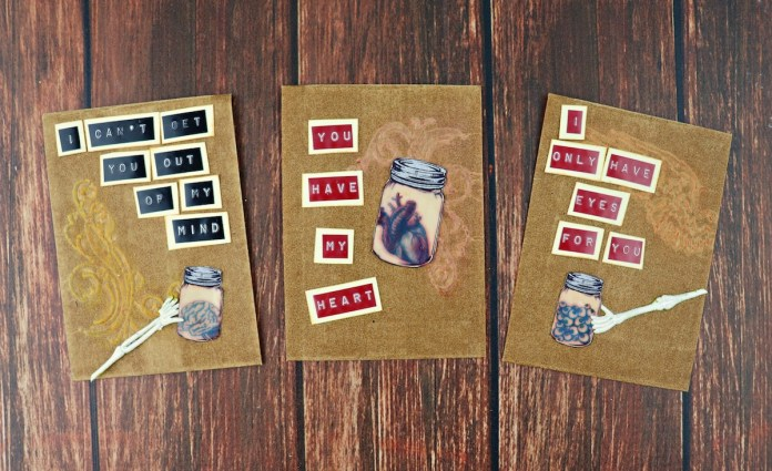 creepy cards tutorial