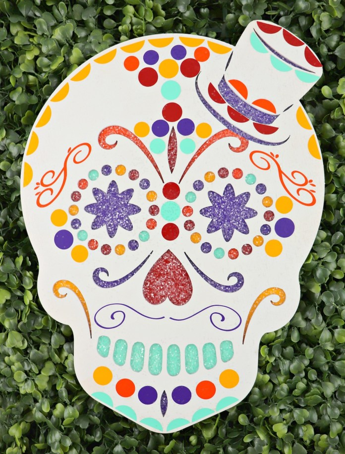 how to decorate a calavera
