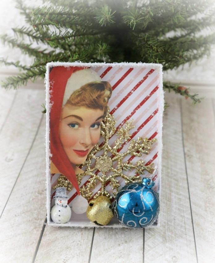 retro Christmas ornament DIY