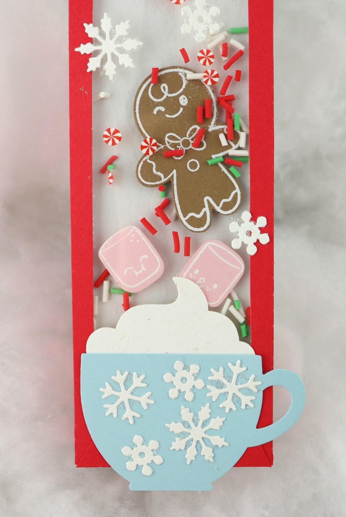 make a Gingerbread Shaker Box