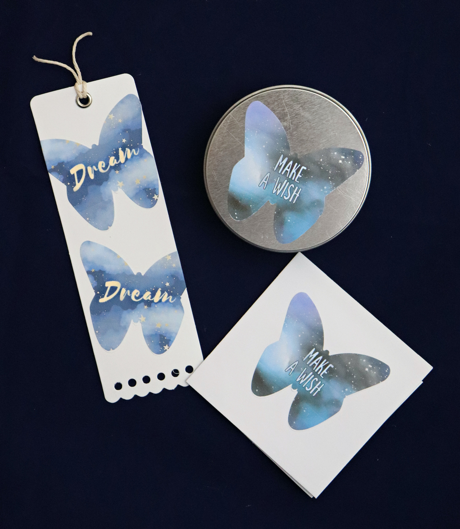 butterfly labels for gifts