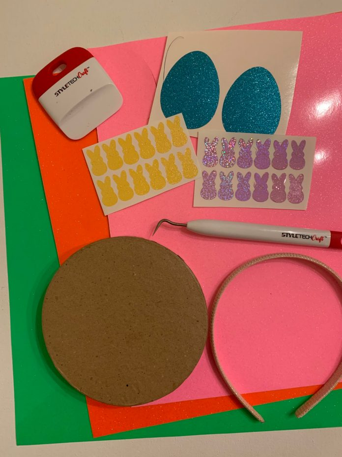 styletech craft glitter vinyl