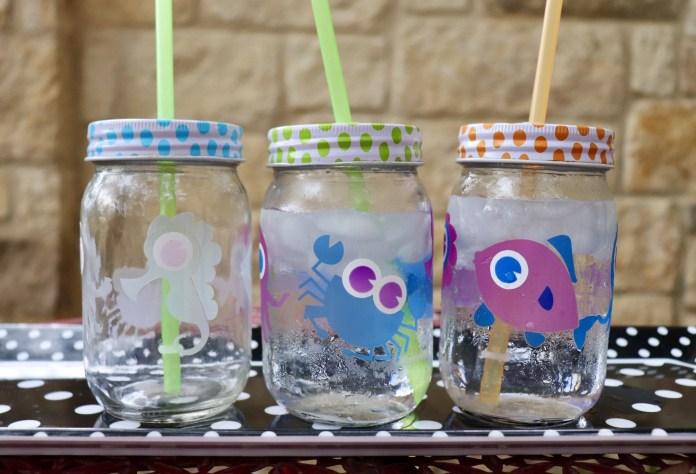 color change vinyl party cups