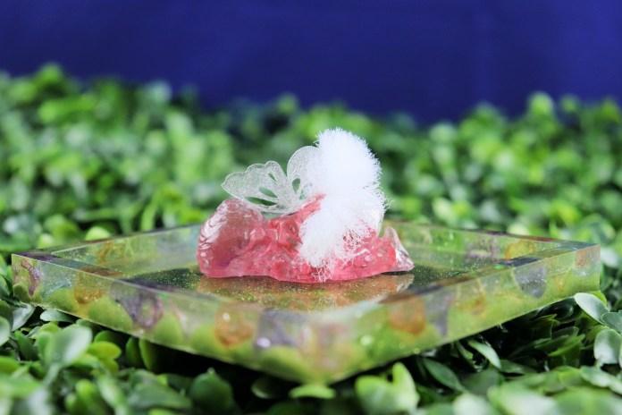resin fairy tray
