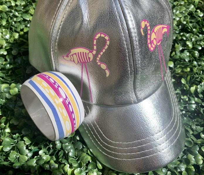 sun vinyl on hat