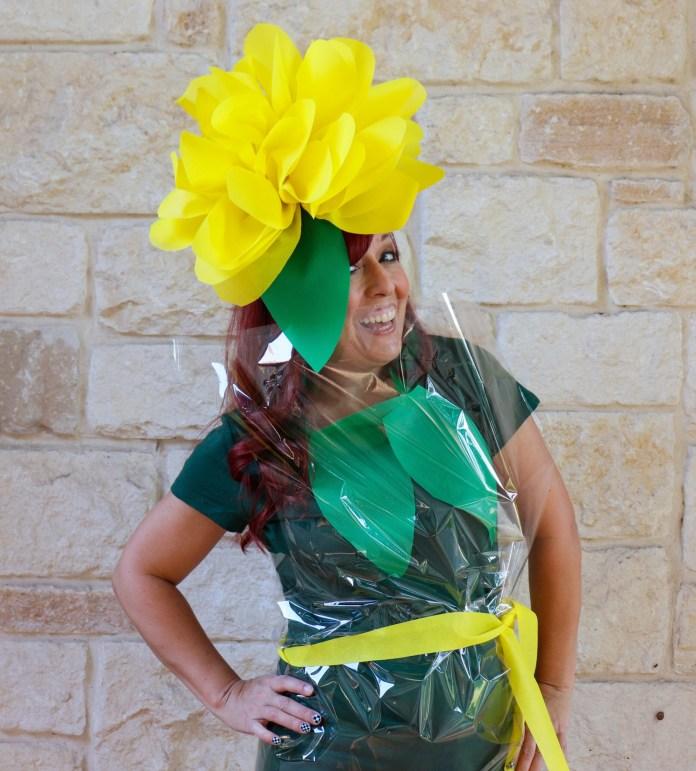 flower costume tutorial
