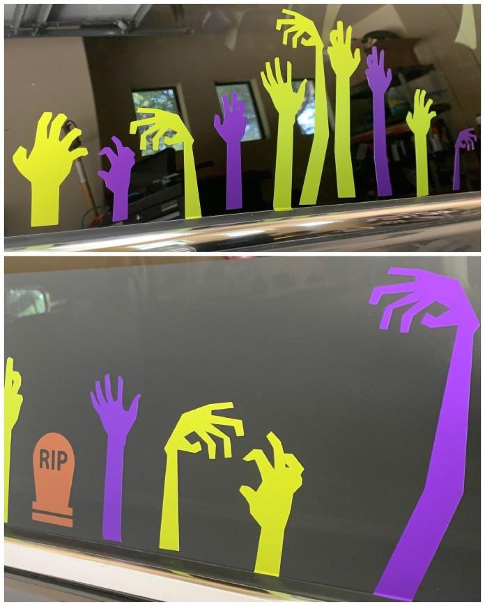 zombie hands vinyl