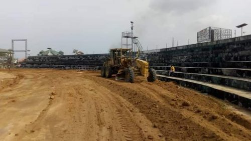 Uyo Township Stadium: Remodeling work resumes in ernest