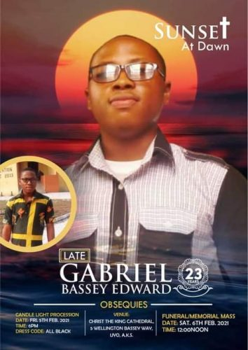 Justice for Gabriel: Murder in the Cathedral!
