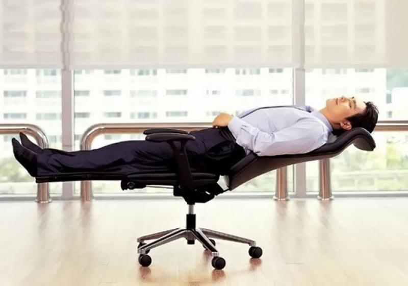 lat flat office chair