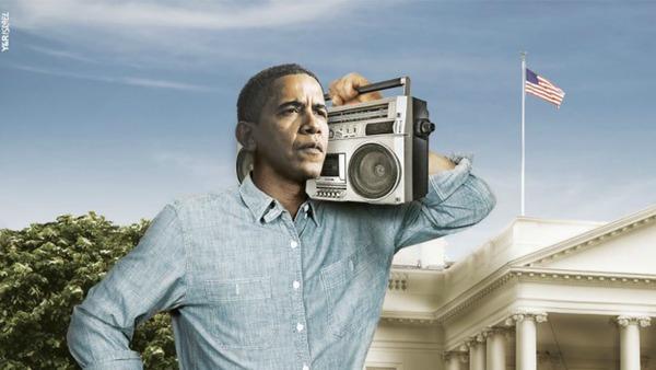 Obama-boombox