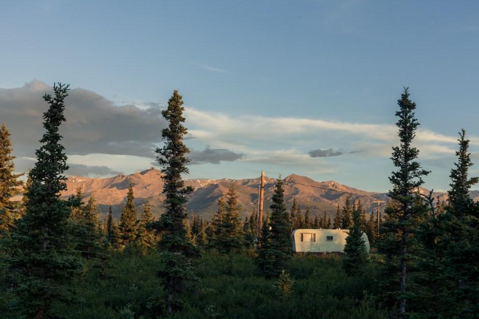 guest cabin in healy alaska