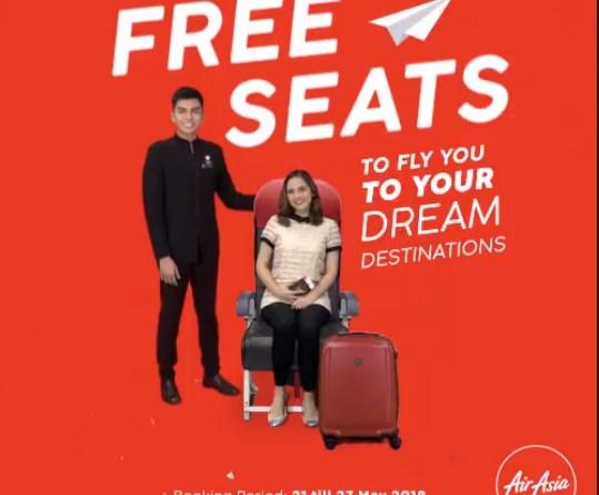 FREE Seats   AirAsia