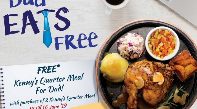 Get a Kenny's Quarter Meal for FREE when you purchase 2 | Kenny Rogers ROASTERS