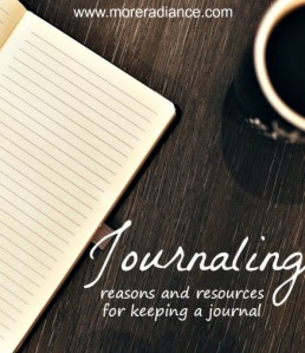 reasons and resources for keeping a journal