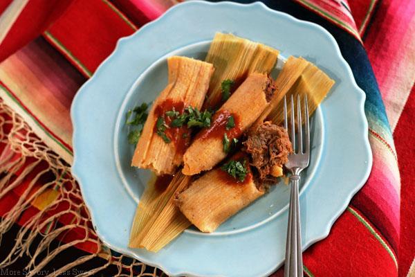 tamales rellenos 1