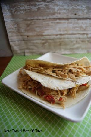 Crock pot Chicken Fajitas4