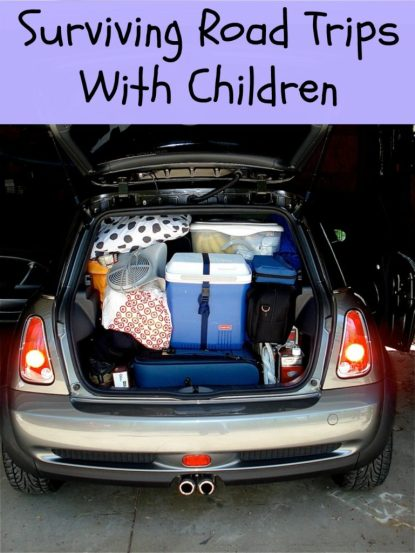 Surviving Road Trips With Children
