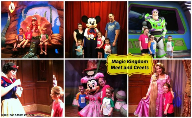 magic kingdom meet and greet