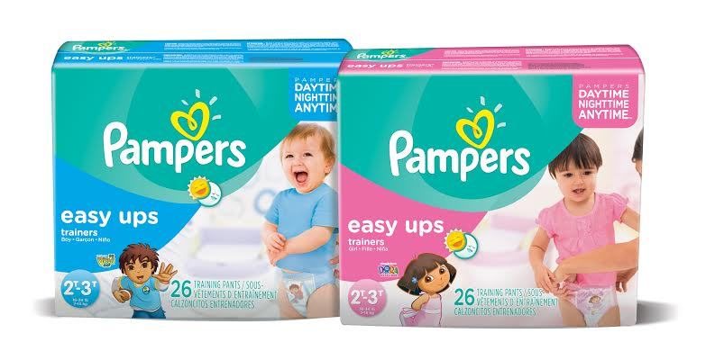 Easy Ups potty training