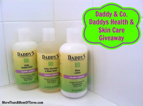 Daddy's Health & Skin Care Giveaway