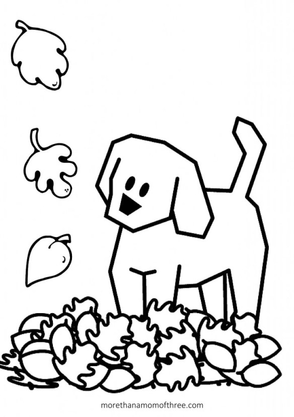 free kids fall coloring pages   Free Thanksgiving Coloring Pages Printables For Kids ...