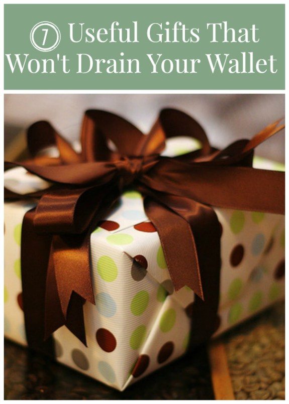 7 Useful Gifts That Won't Drain Your Wallet
