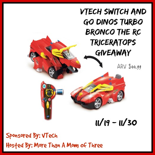VTech Switch and Go Dinos Giveaway