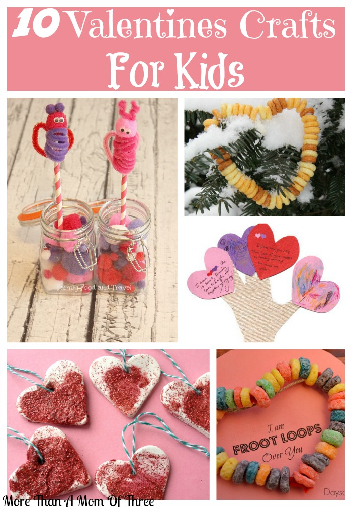 10 valentines crafts to do with your kids more than a for Fun crafts to do with your mom
