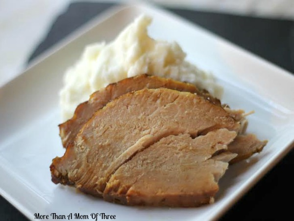 Crockpot Balsamic Pork Loin