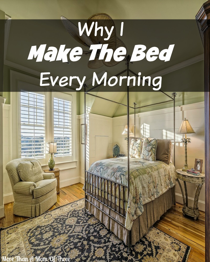 Why I Make The Bed Every Morning