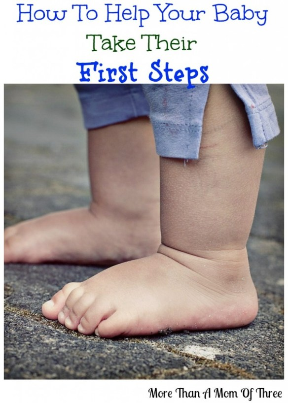 teach your baby to take their first steps