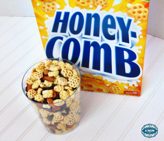 Post Honeycomb cereal party mix