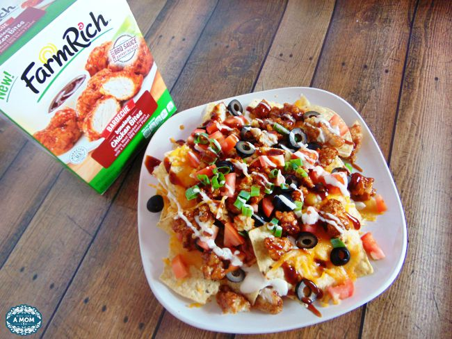 Farm Rich Loaded BBQ Chicken Nachos