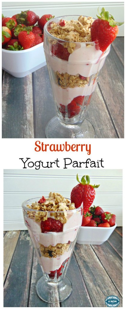 Strawberry Yogurt Parfait recipe