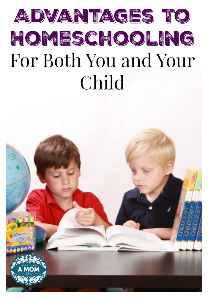 Advantages To Homeschooling For Both You and Your Child