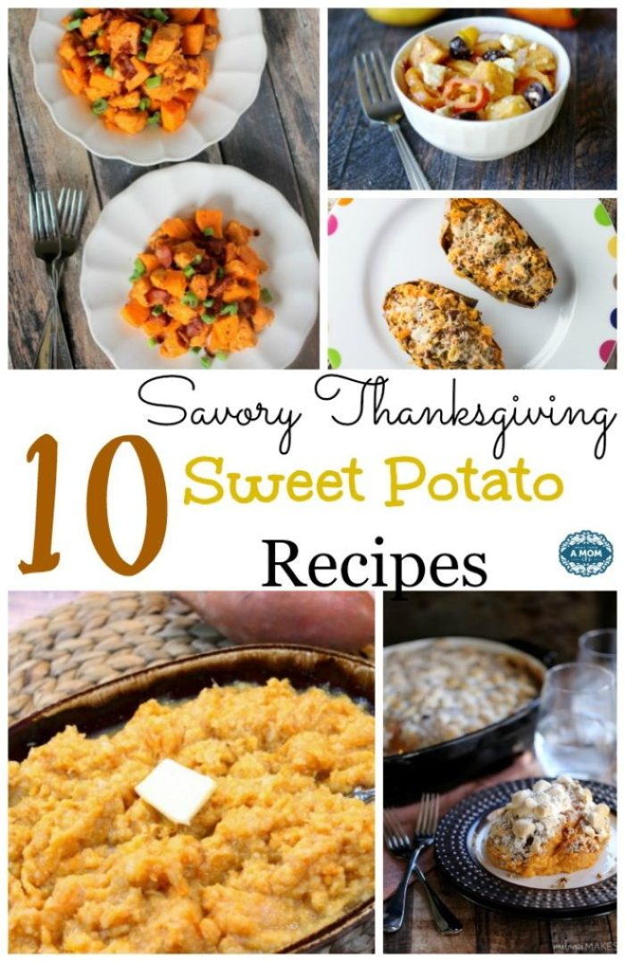 Savory Sweet Potato Recipes