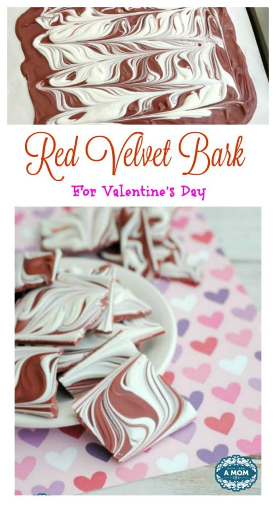 Red Velvet Bark Recipe Valentines Day