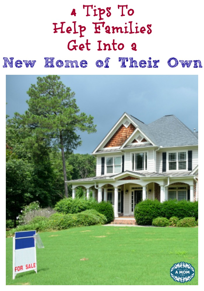 How Do Families Get Into a New Home of Their Own?