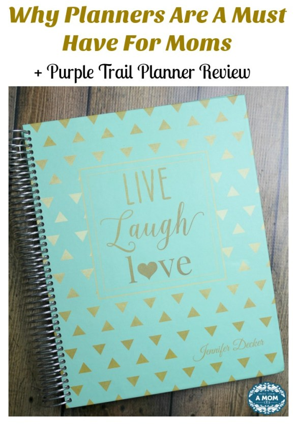 Why Planners Make My Job As A Mom So Much Easier + Purple Trail Planner Review