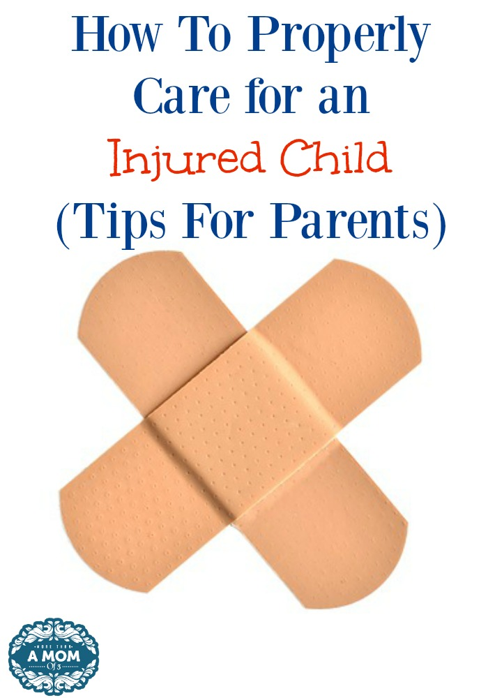 Properly Care for an Injured Child