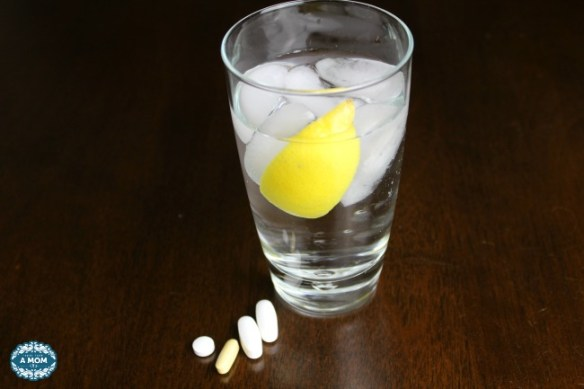 healthy morning routine lemon water